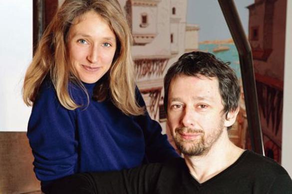 """Julie Birmant et Clément Oubrerie, créateurs de la série """"Pablo"""" © DR"""