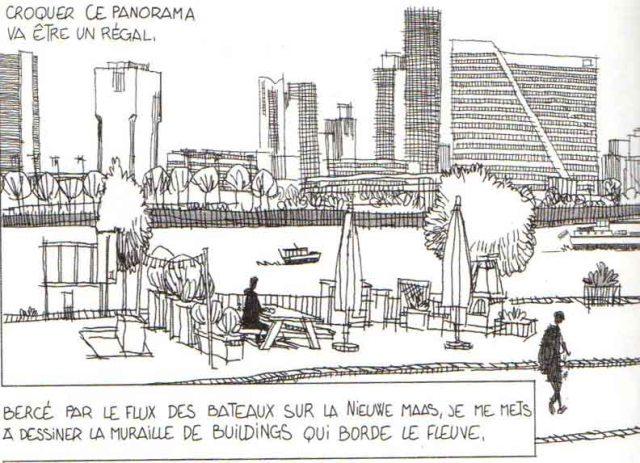 Rotterdam, un séjour à fleur d'eau – Emmanuel Lemaire