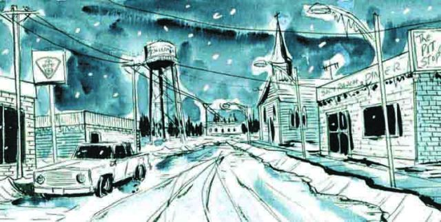 Winter Road © 2016 Jeff Lemire (Futuropolis)