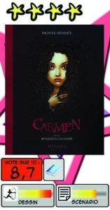 Carmen – Benjamin Lacombe
