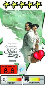Les derniers jours de Stefan Zweig (Sorel/Seksik)