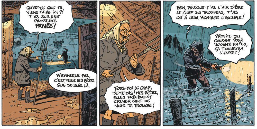 Les Vieux Fourneaux t.3 : Celui qui part – Lupano & Cauuet